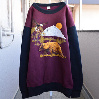 "No.2014 ""vintage"" USA made animal sweat"