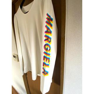 マルタンマルジェラ(Maison Martin Margiela)のメゾンマルジェラ maison margiela グラフィック ロゴシャツ 46(Tシャツ/カットソー(七分/長袖))