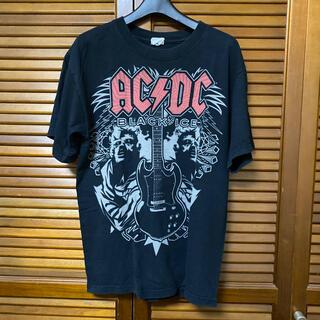 AC/DC ロックTシャツ BLACK ICE