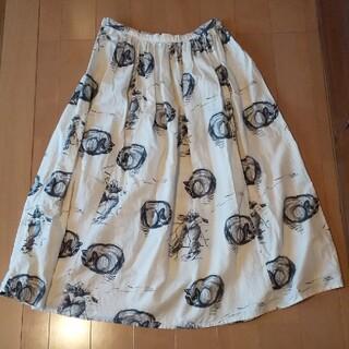 KAPITAL - キャピタル 猫柄スカート