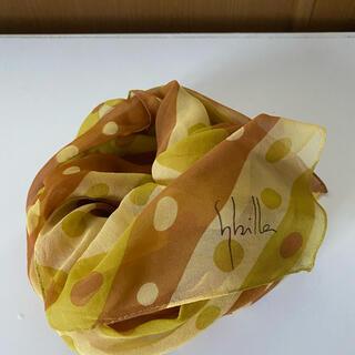 シビラ(Sybilla)のシビラ のスカーフ 絹100%(バンダナ/スカーフ)