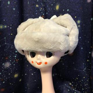 アナスイ(ANNA SUI)の値下げ!未使用 アナスイ(ANNA SUI) 57.5cm 猫耳 帽子 (その他)