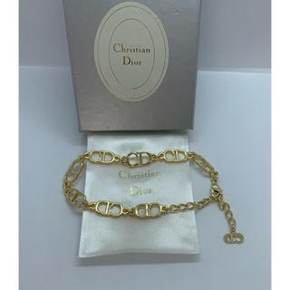Christian Dior - 【未使用 】クリスチャン ディオール CDロゴブレスレット/ゴルード/R101