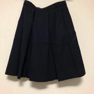 コスプレ用制服スカート  紺色 冬用