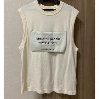 ビューティフルピープル(beautiful people)のbeautiful people トップス(Tシャツ(半袖/袖なし))