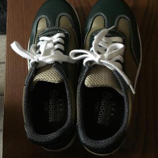 ミドリアンゼン(ミドリ安全)のヤマト運輸の旧型作業靴です。(その他)