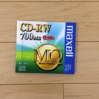 マクセル(maxell)のCD−RW maxell 700MB(PC周辺機器)