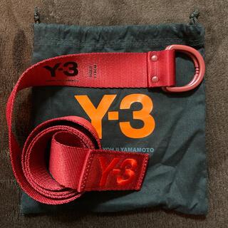 Y-3 - 美品 Y-3 ベルト 赤