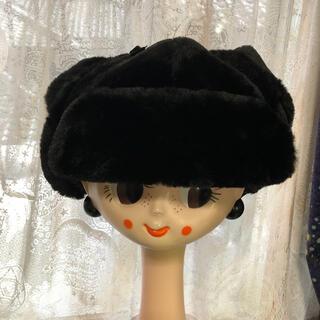 アナスイ(ANNA SUI)の値下げ!未使用 アナスイ ロシアン帽 57.5cm 猫耳 帽子(その他)