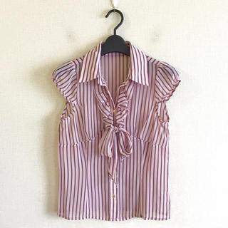 グレースコンチネンタル(GRACE CONTINENTAL)のグレースコンチネンタル♡ストライプシャツ(シャツ/ブラウス(半袖/袖なし))