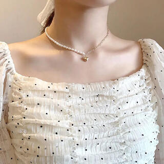 〜heart pearl necklace〜(ネックレス)