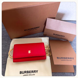 バーバリー(BURBERRY)のBURBERRY キーケース ブライトレッド(キーケース)