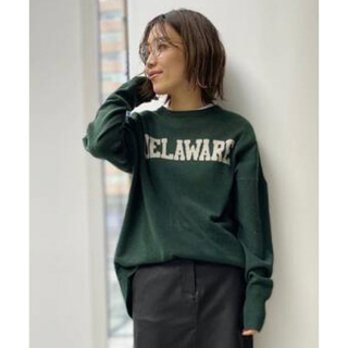 L'Appartement DEUXIEME CLASSE - GOOD GRIEF グッドグリーフ Cashmere Logo Knit