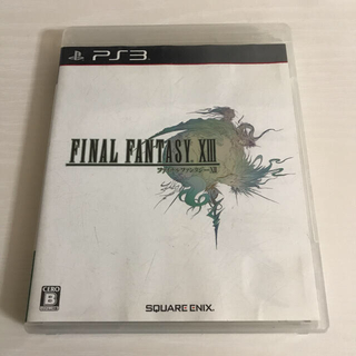 PlayStation3 - ファイナルファンタジーXIII PS3