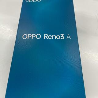 OPPO - 【新品未使用】OPPO Reno3 A ホワイト★SIMフリー