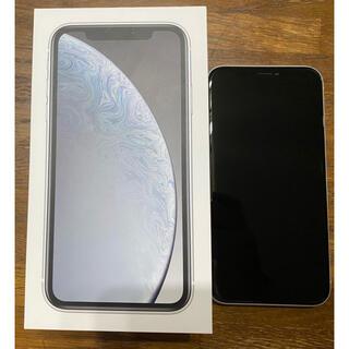iPhone - iPhone XR White 128 GB SIMフリー