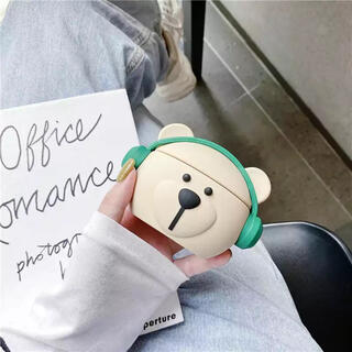 スターバックスコーヒー(Starbucks Coffee)の【中国限定】スタバ ベアリスタ AirPodsケース(モバイルケース/カバー)