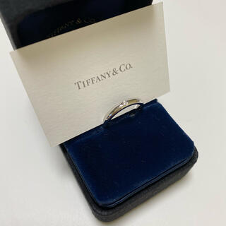 Tiffany & Co. - ティファニー リング PT950 プラチナ ダイヤリング 指輪 美品