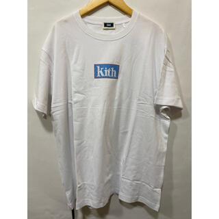 キース(KEITH)の2020ss KITH MOSAIC BOX LOGO TEE WHITE XL(Tシャツ/カットソー(半袖/袖なし))