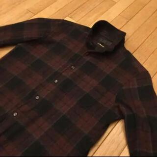 JACKROSE - JACKROSE Luvmaison スタンドカラー ロンドンチェックシャツ