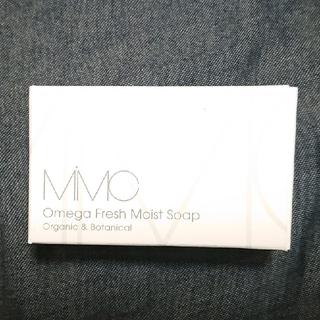 エムアイエムシー(MiMC)のMIMC オメガフレッシュ モイストソープ フレッシュローズウッド 100g(洗顔料)