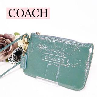 ウェンディズアンドフットザコーチャー(Wendy's & foot the coacher)のs127 COACH コーチ フラットポーチ 馬車柄(ポーチ)