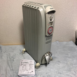デロンギ(DeLonghi)のデロンギ オイルヒーター DRAGON3 D071249EFS X字フィン7枚 (オイルヒーター)