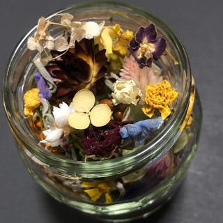 ドライフラワー 花材 ミックス ハーバリウム レジン 素材 E(ドライフラワー)