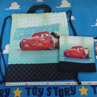 ディズニー(Disney)のカーズ ナップサック 巾着袋(リュックサック)