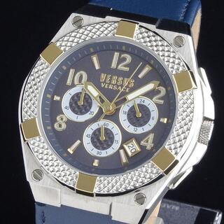 VERSACE - 【新品・正規品】ヴェルサス ヴェルサーチ 高級 メンズ腕時計 クロノ 46mm