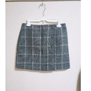 グレイル(GRL)のGRL インパン付きチェック台形スカート(ミニスカート)