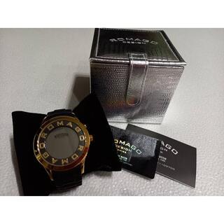 ロマゴデザイン(ROMAGO DESIGN)の美品★ROMAGO腕時計(腕時計(デジタル))