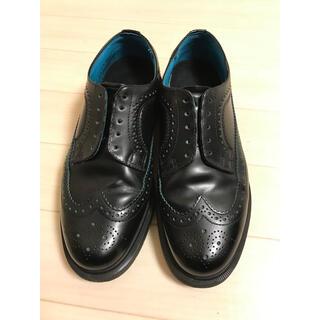 Dr.Martens - レア品 ドクターマーチン ウイングチップ ブルー 13619 革靴