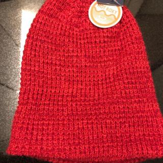 ロキシー(Roxy)の【新品タグ付き】60%オフ!ROXY  ロキシー レディースニット帽(ニット帽/ビーニー)