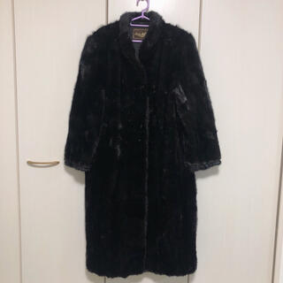 高級 ムーンバット ミンクコート  毛皮コート ロングコート(毛皮/ファーコート)