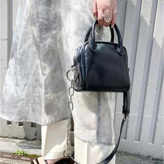 フーズフーギャラリー(WHO'S WHO gallery)のサイドクリアミニスクエアトートバッグ(トートバッグ)