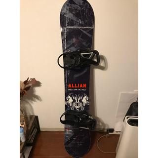 アライアン(ALLIAN)のALLIAN PRISM 158cm 板のみ(ボード)