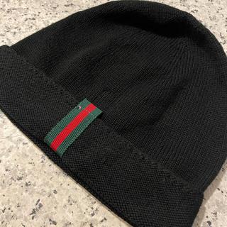 グッチ(Gucci)のGUCCI ニット帽 (ニット帽/ビーニー)
