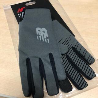 ニューバランス(New Balance)の値下げしました 新品 定価3190円 ニューバランス 防風トレーニング手袋 M(その他)