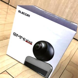 エレコム(ELECOM)の【新品未開封】ELECOM OMNI shot mini 360度カメラ(その他)