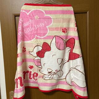 ディズニー(Disney)のディズニーストア マリー ブランケット 綿ひざかけ毛布(毛布)
