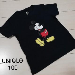 UNIQLO - ほぼ未使用☆UNIQLOミッキーTシャツ☆100 ③