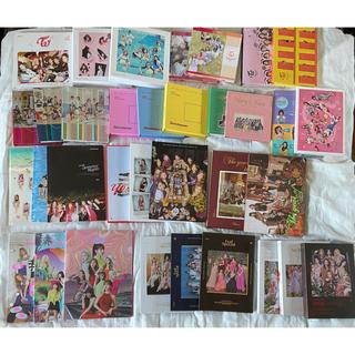 ウェストトゥワイス(Waste(twice))のTWICE  韓国版CD More&More まで ほぼ フルコンプセット(K-POP/アジア)