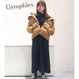 ジムフレックス(GYMPHLEX)のGymphlex ナイロンタフタ ホワイトグース フード ダウンジャケット(ダウンジャケット)