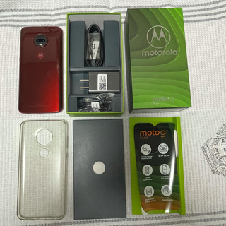 Motorola - moto g7 PLUS 美品