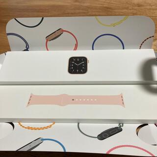 アップル(Apple)のアップルウォッチ 純正 40mm スポーツバンド(腕時計)