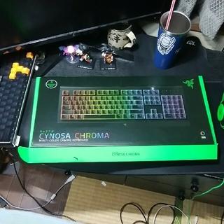 ゲーミングキーボードRAZER/CYNOSA CHROMAマルチカラー(その他)