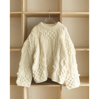 TODAYFUL - TODAYFUL pattern hand knit パターンハンドニット