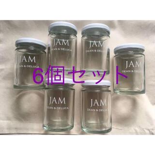 DEAN & DELUCA - 手作りに DEAN & DELUCA ロゴ入り ジャムの瓶 6個セット