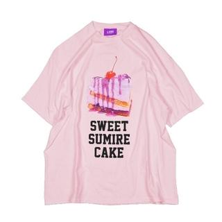 ミルクボーイ(MILKBOY)のLAND by milkboy 佐藤すみれコラボ ビッグT ピンク(Tシャツ(半袖/袖なし))